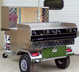 Custom Food Cart