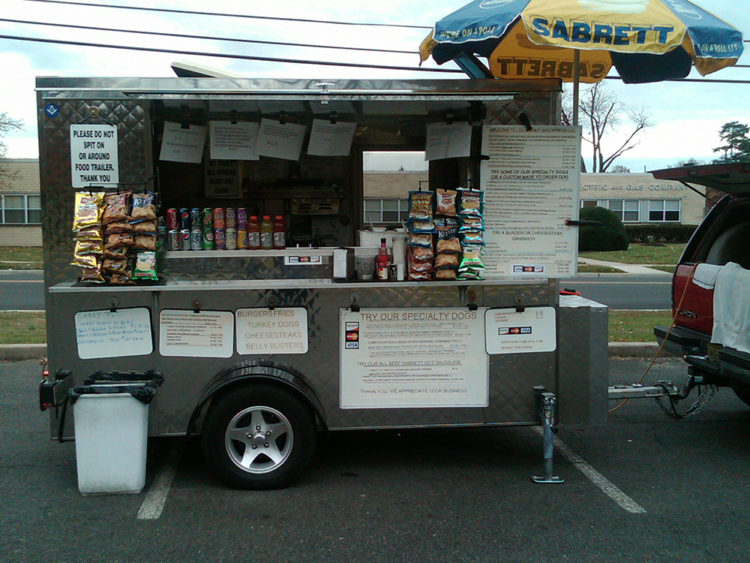 Fully Stocked Lunch Trailer