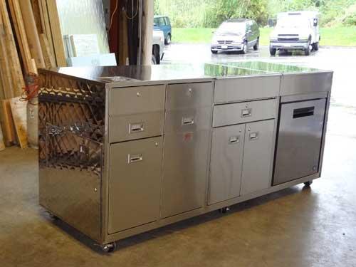 Food Truck Storage Unit